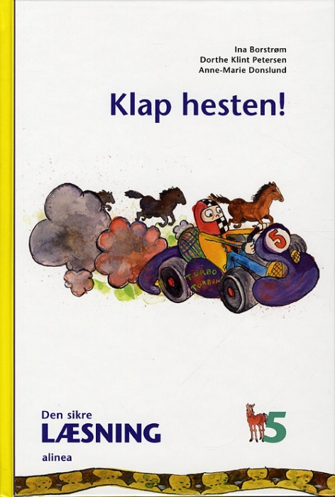 Image of Den sikre læsning 5, Klap hesten! 4.kl. (Bog)