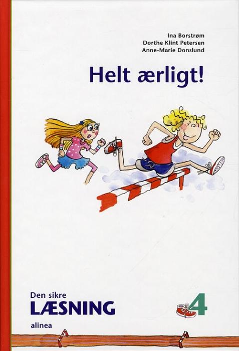 Image of Den sikre læsning 4, Helt ærlig! 4.kl. (Bog)