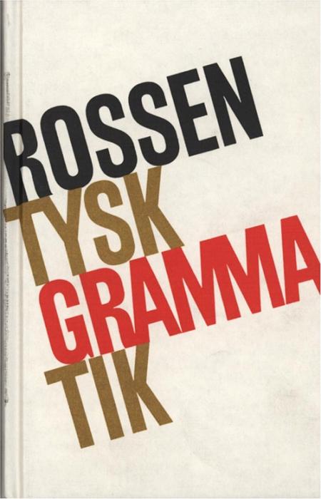 Tysk grammatik (Bog)