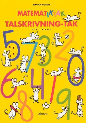 Image of   Matematik-Tak 1.kl. Talskrivning-tak (Bog)