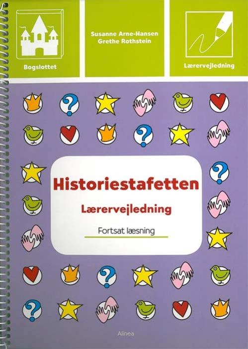 Image of   Bogslottet 3, Historiestafetten, Lærervejledning (Bog)