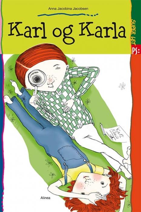 Image of Super let PS, Karl og Karla (Bog)