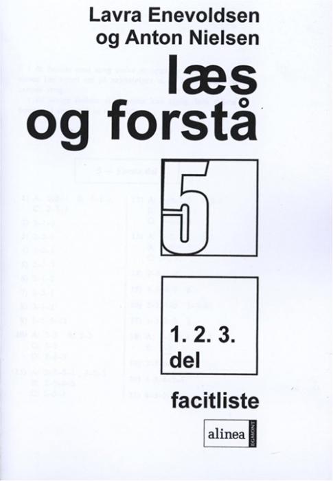 Image of Læs og forstå 5, 1-3 Facitliste (Bog)