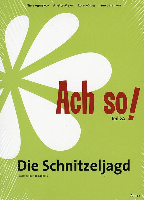 Image of   Ach so! Teil 2A, Die Schnitzeljagd, Værkstedskort (Bog)