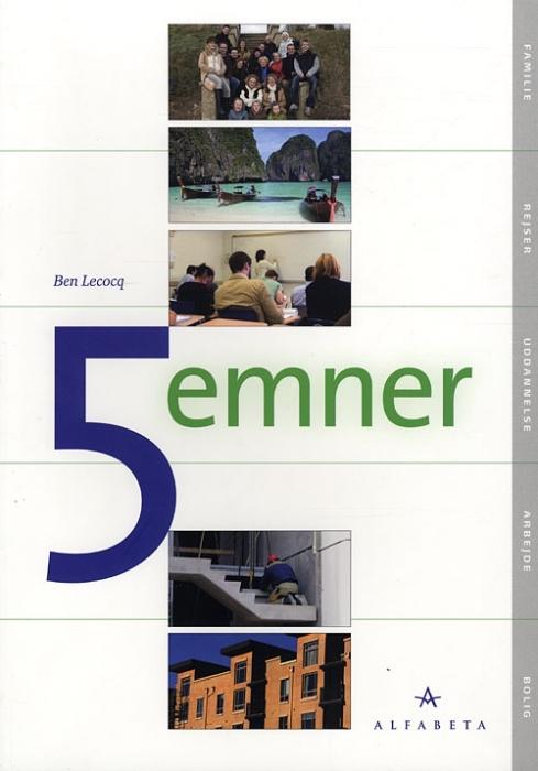Image of   5 emner (Bog)