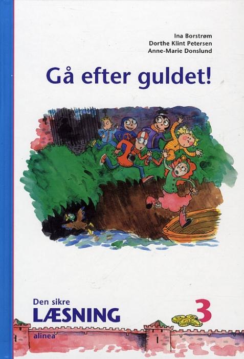 Image of Den sikre læsning 3, Gå efter guldet! 3.kl. (Bog)