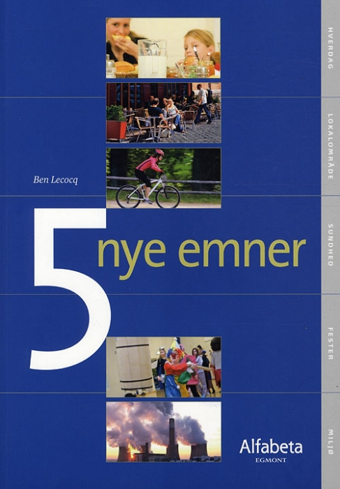 Image of   5 nye emner (Bog)