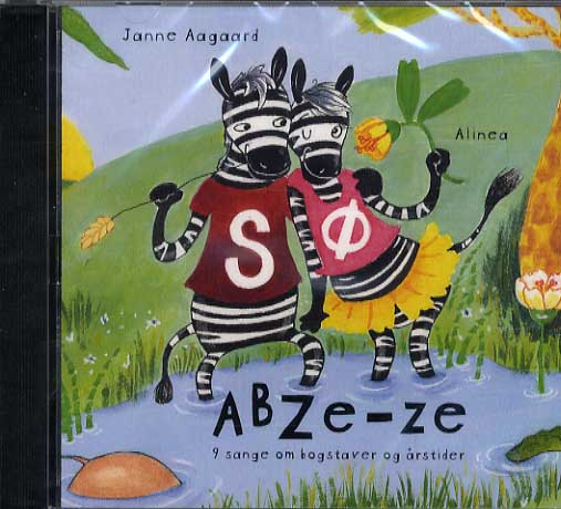 Image of   ABZe-ze, CD (Lydbog)