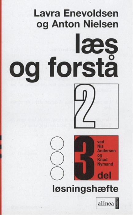 Image of Læs og forstå 2, 3 Løsningshæfte (Bog)