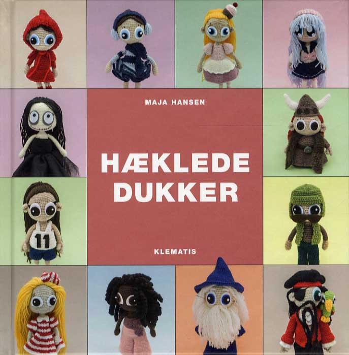 Image of   Hæklede dukker (Bog)