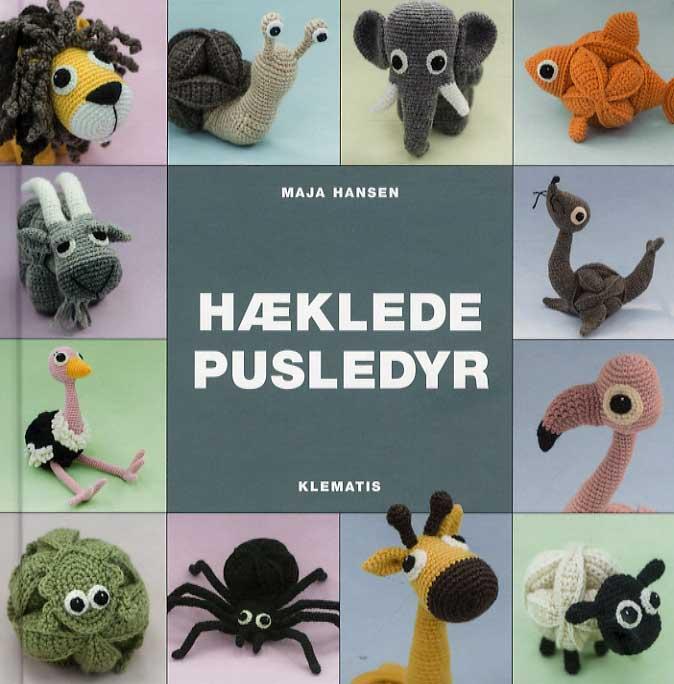 Image of   Hæklede pusledyr (Bog)