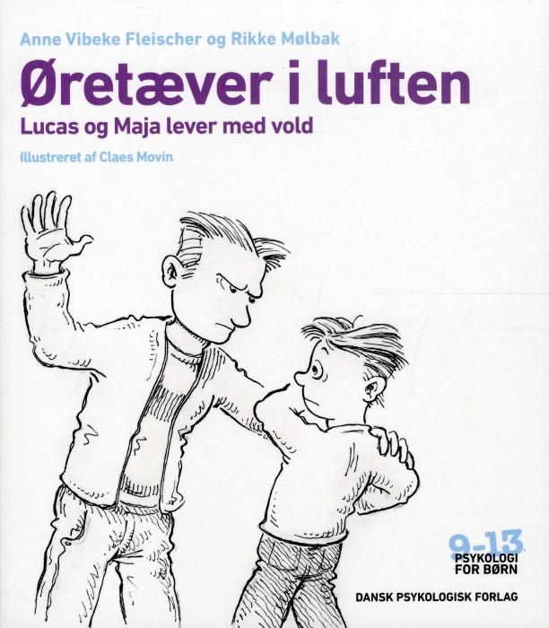 Image of Øretæver i luften (Bog)