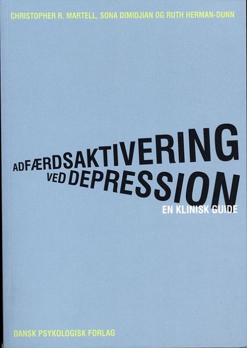 Image of   Adfærdsaktivering ved depression (Bog)