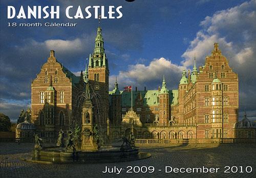 Danish Castles 2009-2010, 18 month Calendar (Bog)