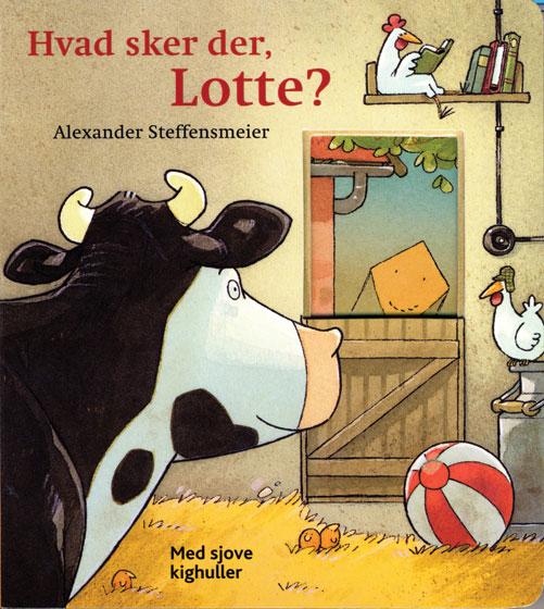 Image of Hvad sker der, Lotte? (Bog)