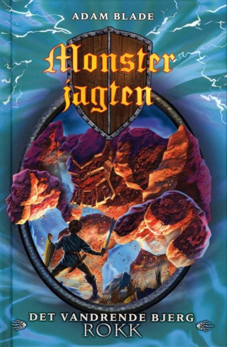 Image of Det vandrende bjerg Rokk (Bog)