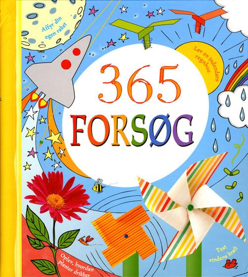 Image of   365 forsøg (Bog)