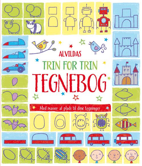 Image of   Alvildas trin for trin-tegnebog (Bog)