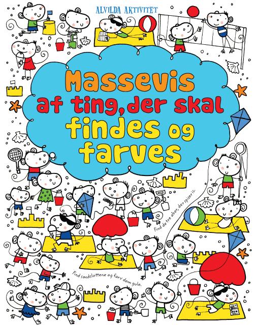 Image of   Massevis af ting, der vil findes og farves (sæt á 2 stk.) (Bog)