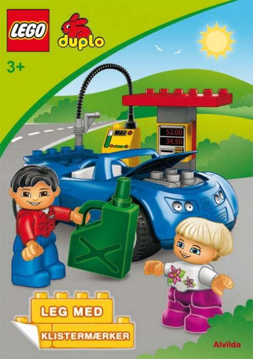 LEGO DUPLO - Bilen - Sjov med klistermærker (sæt a 3 stk. Pris pr. stk. 39,95) (Bog)