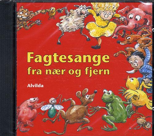 Image of CD - Fagtesange fra nær og fjern (Lydbog)