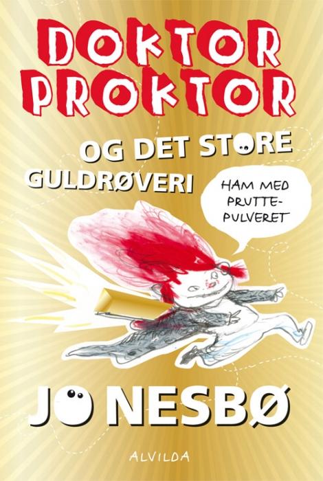 Doktor Proktor og det store guldrøveri (4) (Bog)