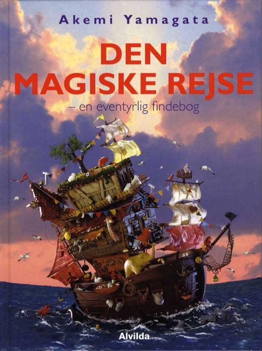 Image of Den magiske rejse - en eventyrlig findebog (Bog)
