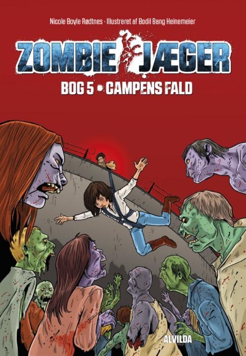 Zombie-jæger 5: Campens fald (Bog)