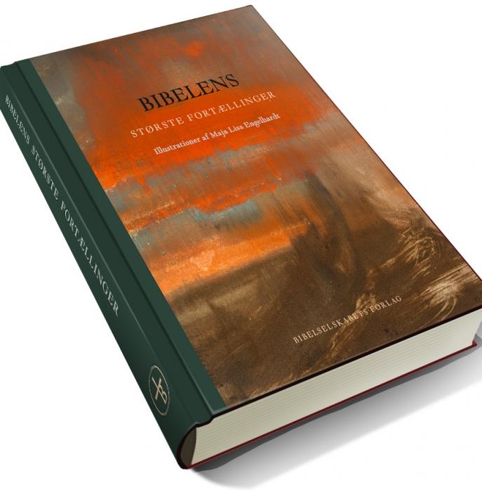 Image of   Bibelens største fortællinger. Med illustrationer af Maja Lisa Engelhardt (Bog)