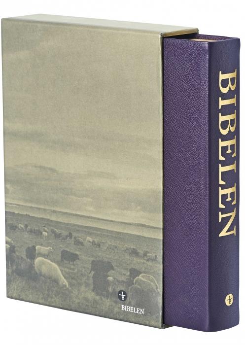 Image of   Bibelen med Det Gamle Testamentes apokryfe bøger - stort format (Bog)