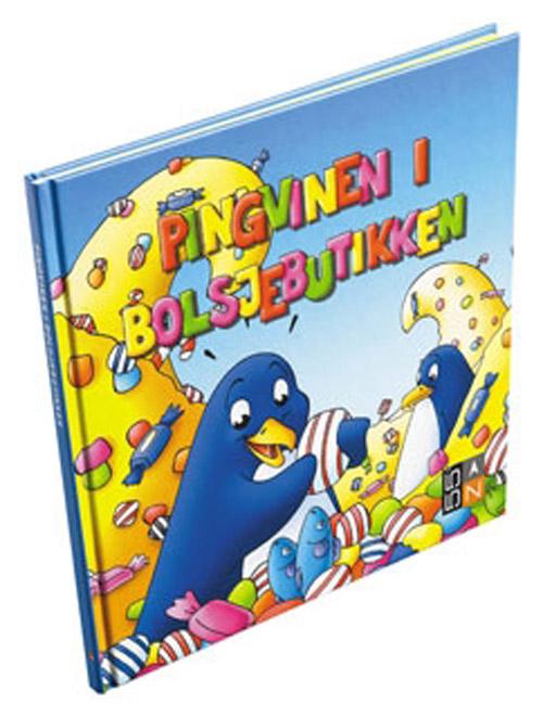 Pingvinen i bolsjebutikken (Bog)