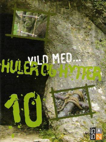 Vild med - huler og hytter (Bog)