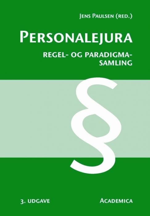 Personalejura - Regel- og paradigmasamling (E-bog)
