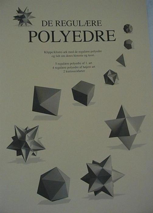 De regulære polyedre (Bog)
