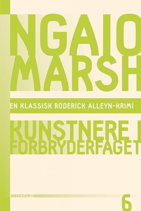Ngaio Marsh 6 - Kunstnere i forbryderfaget (Bog)