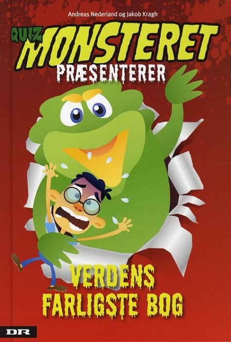 Image of Quizmonsteret præsenterer - Verdens farligste bog (Bog)