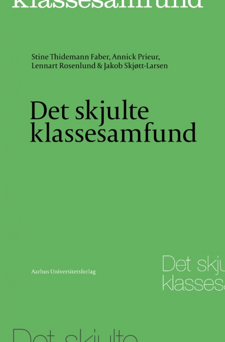 Image of Det skjulte klassesamfund (Bog)
