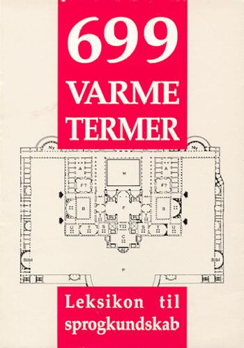 Image of   699 varme termer (Bog)
