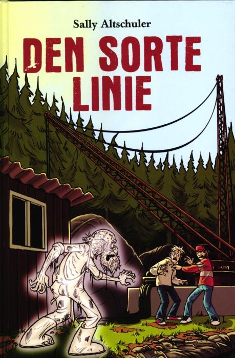 Image of   Den sorte linie (Bog)