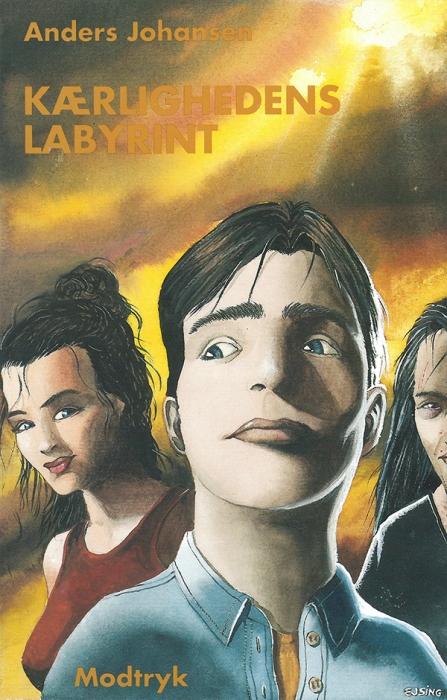 Image of Kærlighedens labyrint (Bog)
