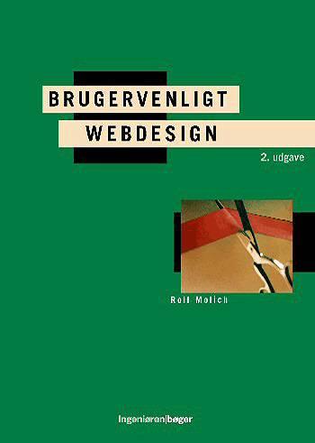 Image of   Brugervenligt Webdesign (Bog)