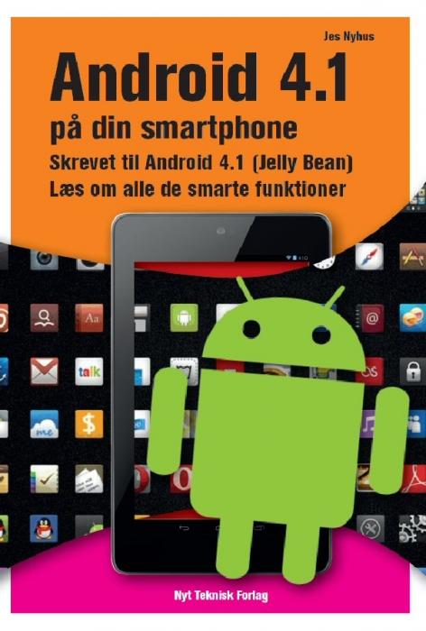 Image of   Android 4.1 på din smartphone (Bog)
