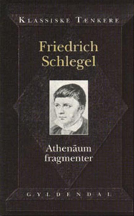 Image of   Athenäum fragmenter (Bog)