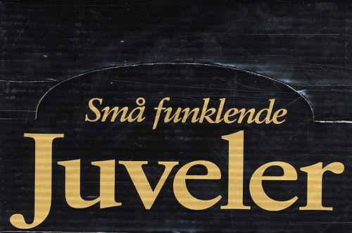 Image of   Display med 24 Små funklende juveler (8 titler) (Bog)