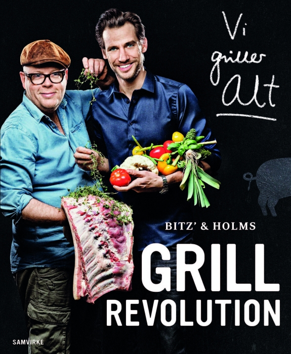 Image of   Bitz' og Holms GRILLREVOLUTION (Bog)