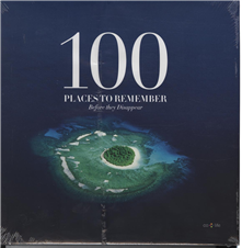 Image of   100 places to remember before they disappear (Bog)