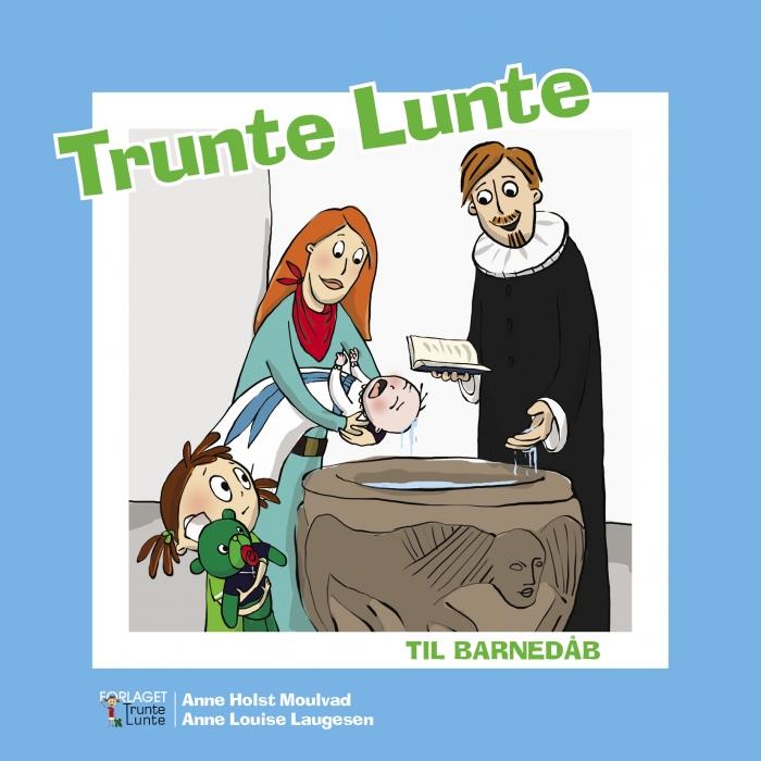 Image of Trunte Lunte til barnedåb (Bog)