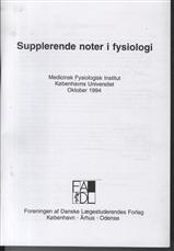 Image of   Supplerende noter i fysiologi (Bog)
