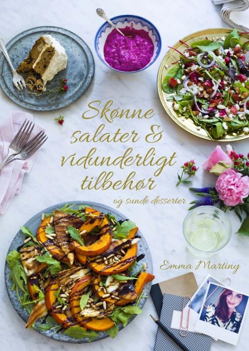Skønne salater og vidunderligt tilbehør (Bog)