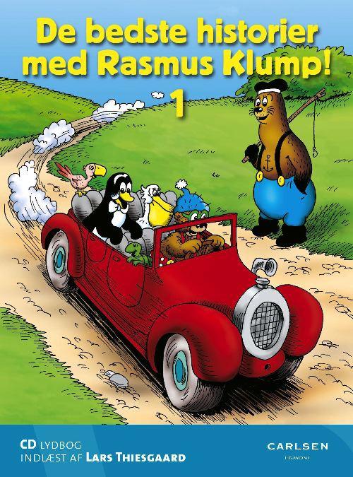 De bedste historier med Rasmus Klump 1 - CD lydbog (Lydbog)